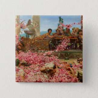 The Roses of Heliogabalus by Lawrence Alma-Tadema Button