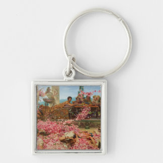 The Roses of Heliogabalus by Lawrence Alma-Tadema Keychain