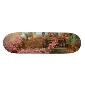 The Roses of Heliogabalus by Lawrence Alma-Tadema Skateboard
