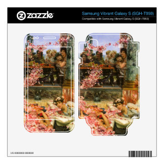 The roses of Heliogabalus detail 2 by Alma-Tadema Samsung Vibrant Decals