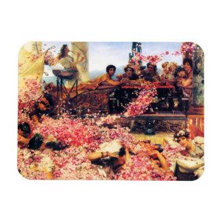 The Roses of Heliogabalus Rectangular Magnet