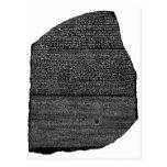 The Rosetta Stone Egyptian Granodiorite Stele Postcard