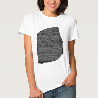 The Rosetta Stone Egyptian Granodiorite Stele T Shirt
