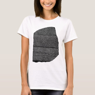 The Rosetta Stone Egyptian Granodiorite Stele T-Shirt