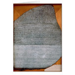 The Rosetta Stone, from Fort St. Julien, Card