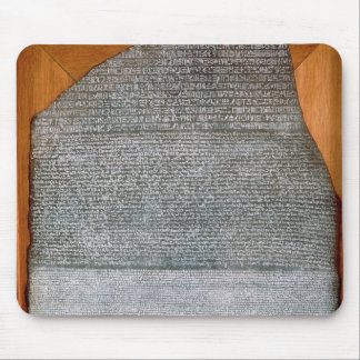 The Rosetta Stone, from Fort St. Julien, Mouse Pad