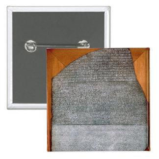 The Rosetta Stone, from Fort St. Julien, Pinback Button