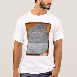 The Rosetta Stone, from Fort St. Julien, T-Shirt