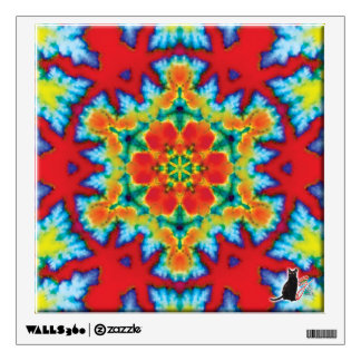 The Rosey Kaleidoscope Wall Sticker