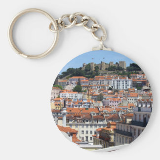 The Rossio and the Hill of the Castle, Lisbon, Keychain