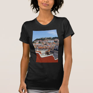 The Rossio and the Hill of the Castle, Lisbon, T-Shirt