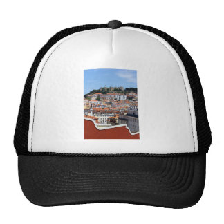 The Rossio and the Hill of the Castle, Lisbon, Trucker Hat