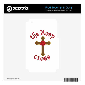 The Rosy Cross iPod Touch 4G Decal