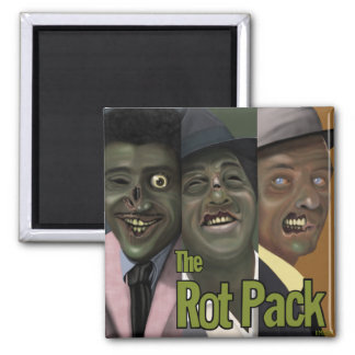"""The Rot Pack"" Zombie Magnet"
