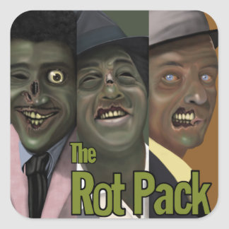 """""""The Rot Pack"""" Zombie Sticker"""
