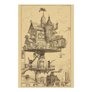 The Rotating House Poster