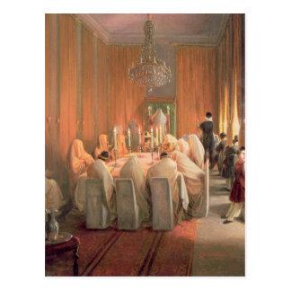 The Rothschild Family at Prayer Postcard