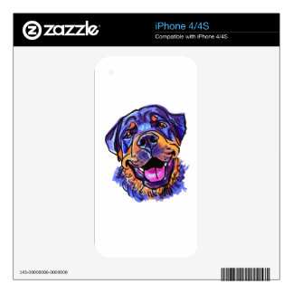 The Rottweiler Love of My Life Decals For iPhone 4S