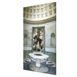 The Rotunda and the Grotto of the Laiterie Canvas Prints