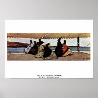The Rotunda Of Palmieri By Fattori Giovanni Posters