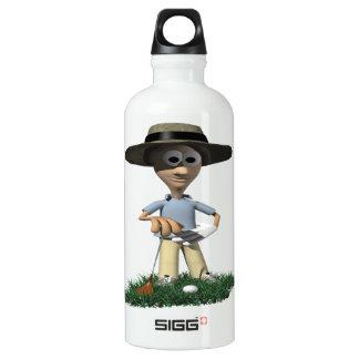 The Rough Gets Rough Aluminum Water Bottle