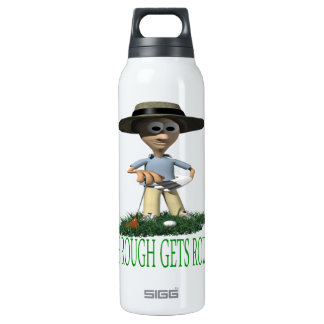 The Rough Gets Rough 16 Oz Insulated SIGG Thermos Water Bottle