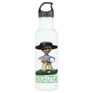 The Rough Gets Rough Stainless Steel Water Bottle