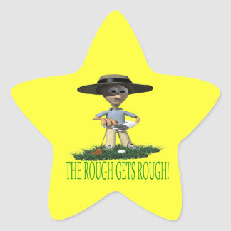 The Rough Gets Rough Star Sticker