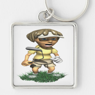 The Rough Is Rough Keychain