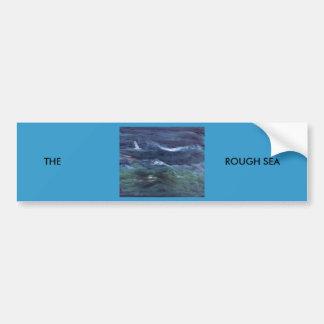 THE ROUGH SEA CAR BUMPER STICKER