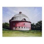 The Round Barn-postcard Postcard