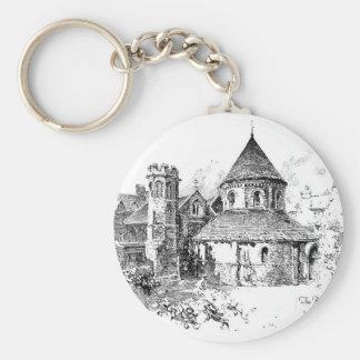 The Round Church Keychain