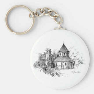The Round Church Keychain
