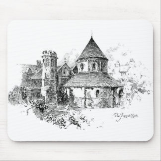 The Round Church Mouse Pads