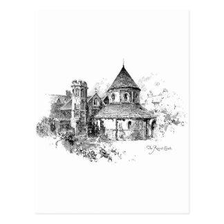 The Round Church Postcard