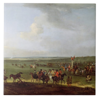 The Round Course at Newmarket, Preparing for the K Tile