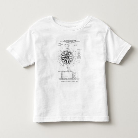The Round Table of King Arthur Toddler T-shirt