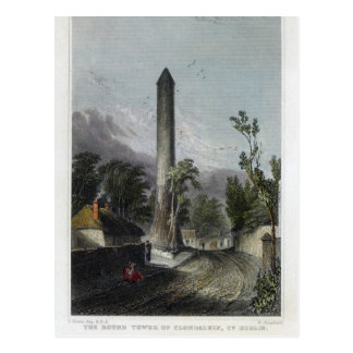 The Round Tower of Clondalkin Postcard