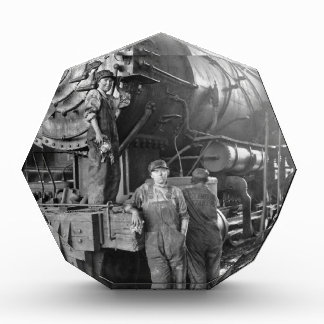 The Roundhouse Gals Vintage Locomotive Award