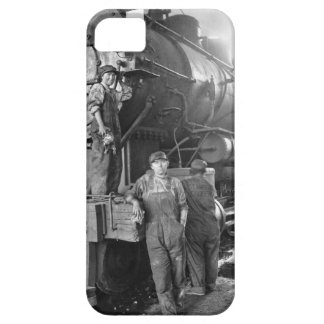 The Roundhouse Gals Vintage Locomotive iPhone SE/5/5s Case