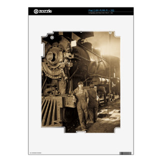 The Roundhouse Rosies of World War I Vintage Decal For iPad 2