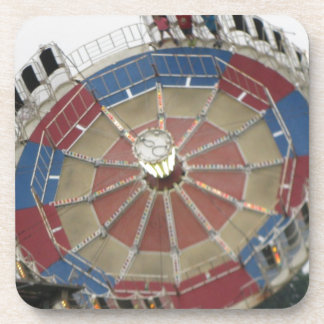 The Roundup Amusment Park Ride Drink Coaster
