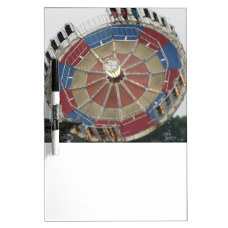 The Roundup Amusment Park Ride Dry-Erase Board