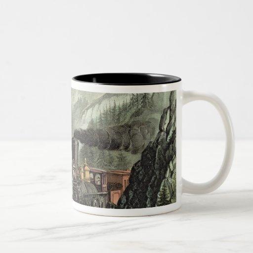 The Route to California Two-Tone Coffee Mug