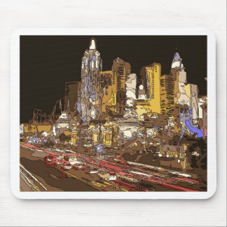The Route to Sin City Vegas Mouse Pad