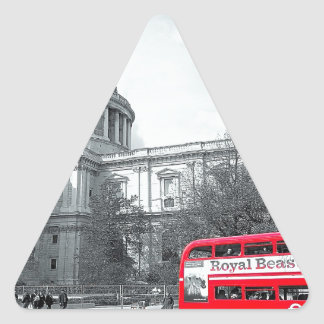 The Routemaster Final.jpg Triangle Sticker