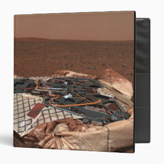 The rover's landing site 3 ring binder