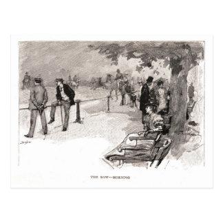 The Row - Morning Postcard