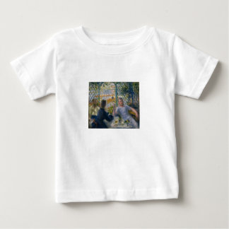 The Rower's Lunch by Pierre-Auguste Renoir Baby T-Shirt