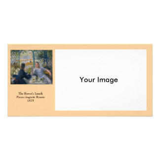 The Rower's Lunch by Pierre-Auguste Renoir Photo Card Template